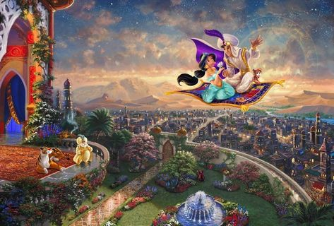 Aladdin - Limited Edition - 18 x 27 / AP-Unframed