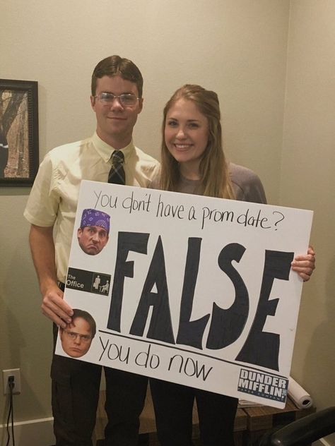 The Office prom proposal promposal The Office p. - The Office prom proposal promposal The Office prom proposal prompo - Cute Homecoming Proposals, Formal Proposals, Dance Proposal, Proposal Ideas, Funny Proposal, Funny Prom, Asking To Prom, Homecoming Asking Ideas, Homecoming Posters