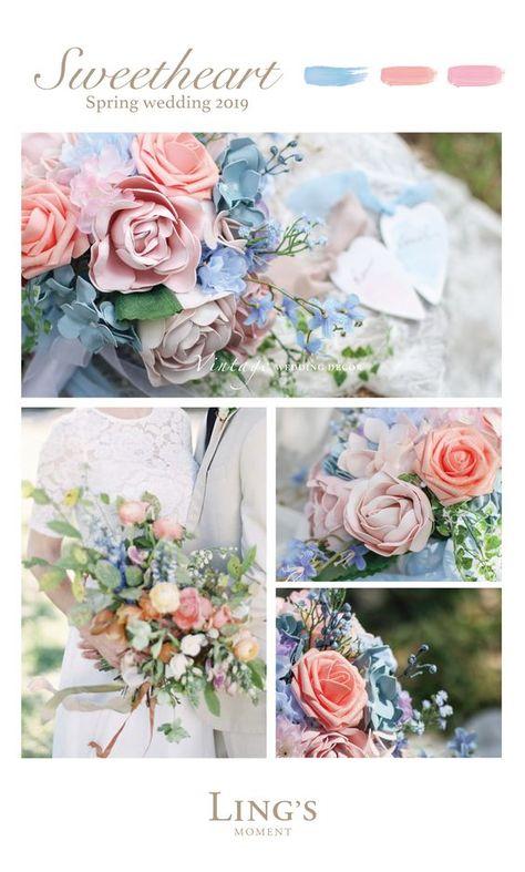 Spring/Summer 2019 Wedding Flowers, 40 Colors Rose, Peony And More. Spring/Summer 2019 Wedding Flowers, 40 Colors Rose, Peony And More.