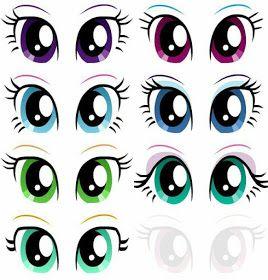 Modelos De Olhos Para Imprimir Molde De Olhos Os Olhos Da Boneca