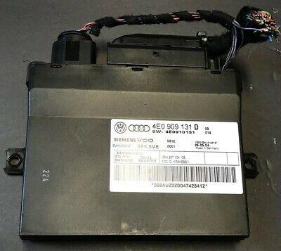 Sponsored Ebay 04 10 Audi A8 Keyless Entry Lock Control 4e0 907