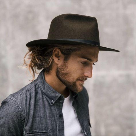 We just love all the different colours of this beautiful Dylan Fedora by - made locally in the USA. Check out their salvaged hats and beanie collection online. Fedora Outfit, Fedora Hat, Hat For Man, Hat Men, Women Hats, Ethical Fashion Brands, Fashion Sites, Winter Fashion Boots, Winter Boots