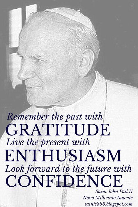 Saints Quotes on Gratitude