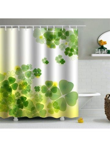 Shower Curtain Mouldproof Waterproof Toilet Bathroom Partition 180