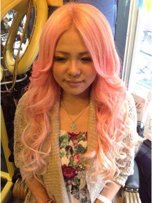2020年秋 ロング ピンク ギャルの髪型 ヘアアレンジ 人気順 ホットペッパービューティー ヘアスタイル ヘアカタログ ビューティー 髪型 ヘアアレンジ
