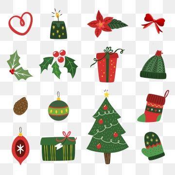 크리스마스 평면 벡터 일러스트 레이 션 다이제스트 매력이 있다 배경 Png 및 벡터 에 대한 무료 다운로드 크리스마스 카드 크리스마스 테마 크리스마스 아이콘