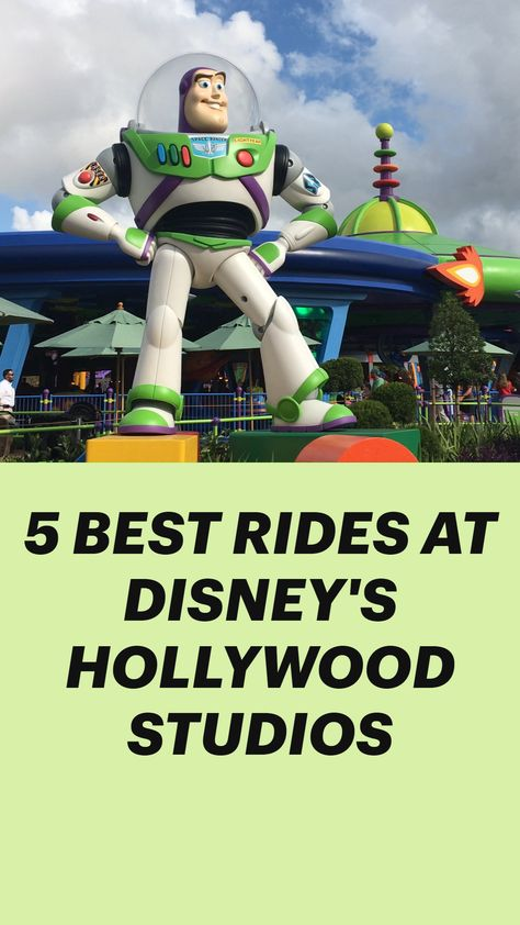 5 BEST RIDES AT DISNEY'S HOLLYWOOD STUDIOS