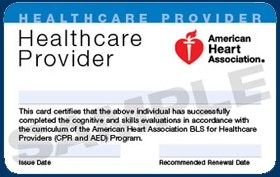 American Heart Association Healthcare Provider Cpr Course You Should Experience Amer Basic Life Support Basic Life Support Training American Heart Association