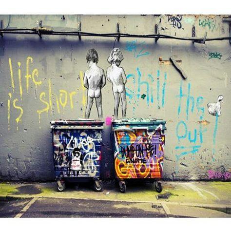 MASSIVE Graffiti Street Art  Print Large Canvas Painting andy baker