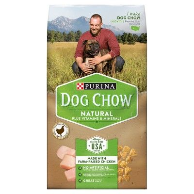 Purinaa Dog Chow Natural Plus Vitamin And Minerals Dry Dog Food