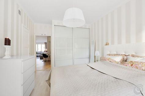 Camere da letto :: La camera da letto stretta e piccola