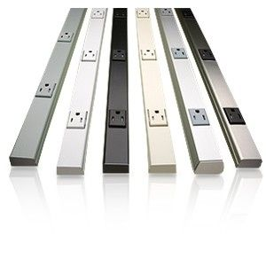 Wiremold Plugmold Multi Outlet Strip for under cabinet outlets in ...
