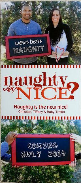 Cute Christmas Pregnancy Announcement!