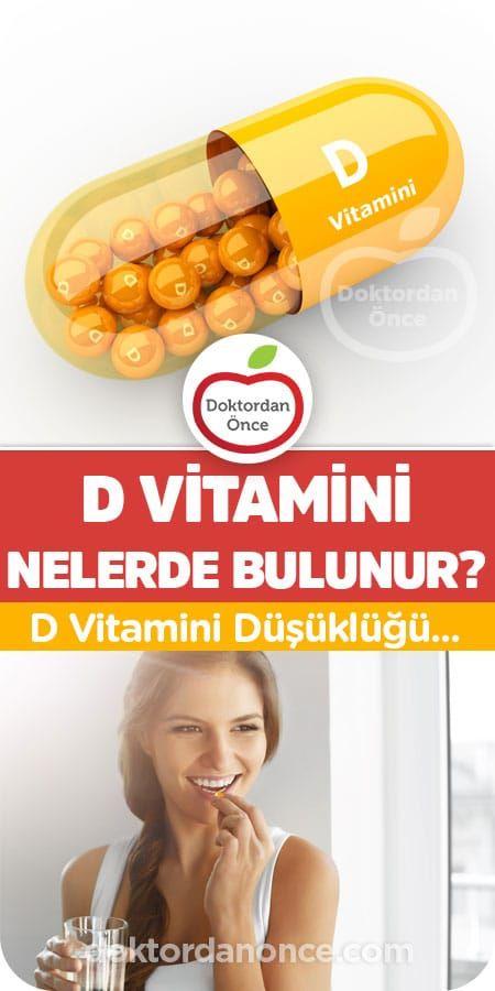 D Vitamini Bulunan Besinler Health Model
