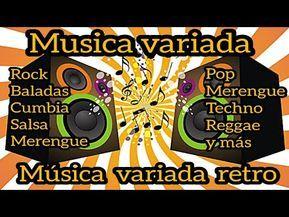 Música Variada Retro Baladas Rock Salsa Techno Merengue Pop Cumbia Reggae Y Más Youtube Book Cover Comic Book Cover Comic Books