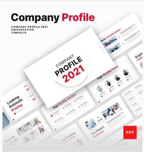 Company Profile PowerPoint Presentation Template
