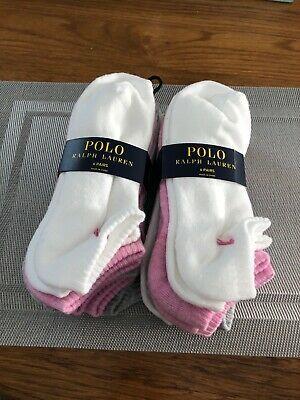 12Pr Ralph Lauren Ladies Socks Sport