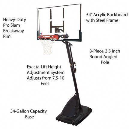 Best Portable Basketball Hoop Under 1000 Spaldingbasketballhoop Portable Basketball Hoop Basketball Systems Basketball Ring