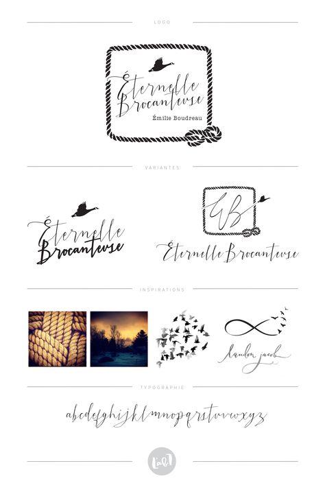 Logo Made By L Atelier Blanc Design Graphique Www Facebook Com