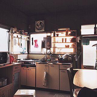 キッチン 古い家 レトロちっく Diy 昭和レトロのインテリア実例 2017 08 20 14 36 19 Roomclip ルームクリップ 2020 古い家 ミニキッチン 古い家 Diy