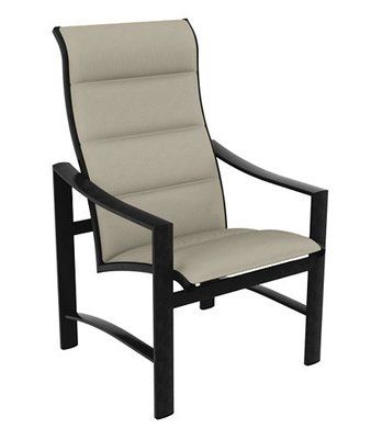 Tropitone Kenzo Patio Dining Chair F Patio Dining Chairs Outdoor Dining Chairs Fabric Dining Chairs