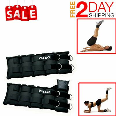 Ankle Wrist Weights Running Exercise Home Gym Strength Training Workout