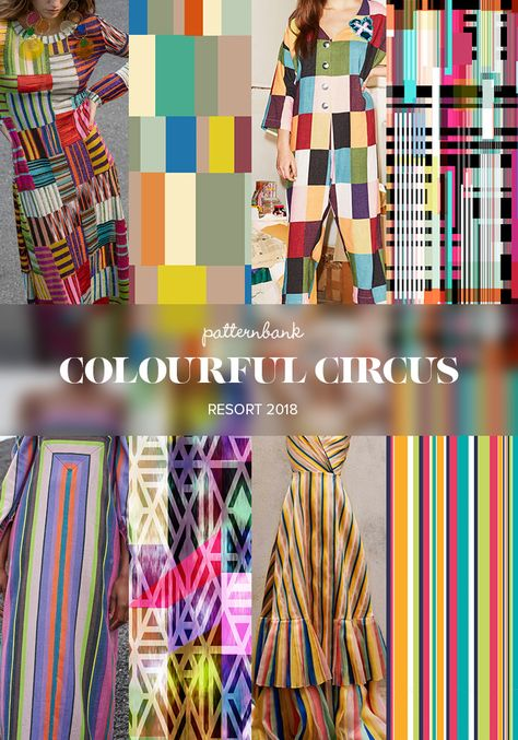 Patternbank bring you part 2 of the strongest print and pattern trends seen at the recent Resort 2018 collections. A creative mix of patterns ranging from