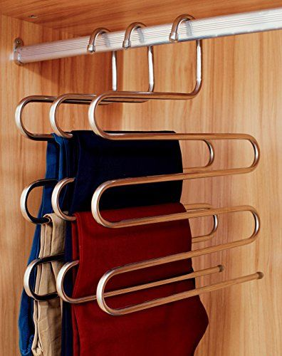 Michael Graves Non Slip Slacks Hangers   Wood, 3 Pack | Slacks, Hanger And  Woods