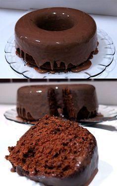 Bolo De Chocolate Molhadinho Facil De Preparar E Irresistivel