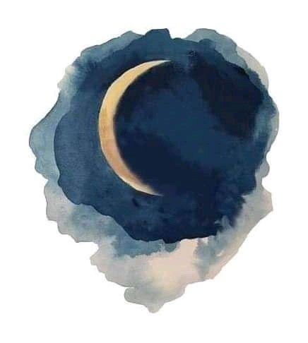 Luna Acuarela Watercolor Moon Watercolor Paintings Easy Watercolor Art