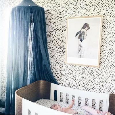 Ciel De Lit Enfant Baldaquin Rideaux De Lit Tente De Jeu Interieur