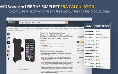 amazon fba calculator