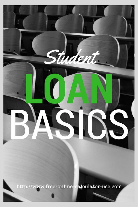 online student loan calculator