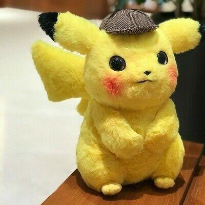 2019 Japan Pokemon Center Movie Detective Pikachu Soft Plush Gifts