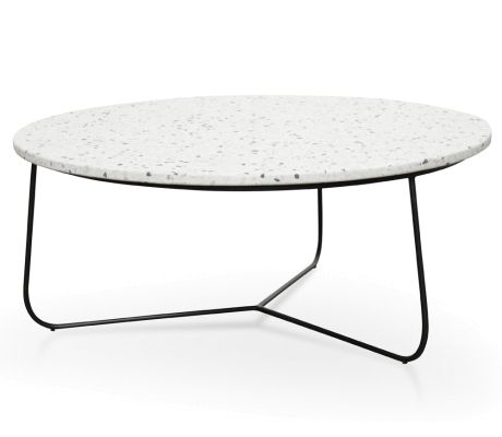 H Edit Australia Love Where You Live Terrazzo Coffee Table Coffee Table Marble Round Coffee Table Furniture