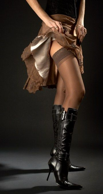 Sexy stockings and boots