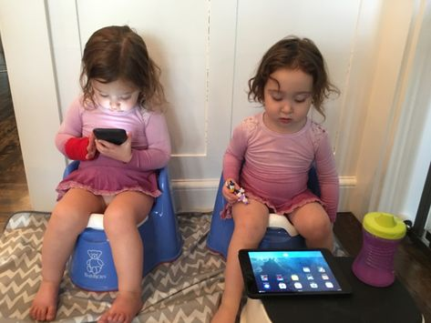 Potty Training Twins :: Tips and Tricks