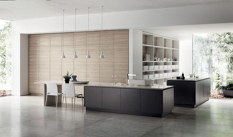 112 best Minimalistische Küche images on Pinterest Minimalist - paneele für küche