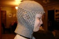 crochet hat for knights  wish i had had this when i made a knights costume several years ago for my son