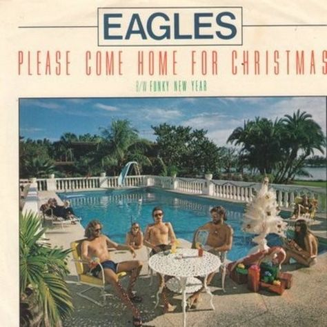 Please Come Home For Christmas Eagles.Eagles Their Version Of Charles Browns Please Come Home
