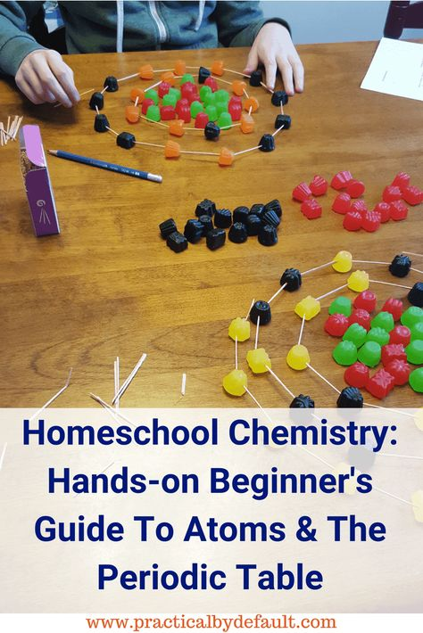 Chemistry for beginners,printable guide perfect for busy homeschool moms of elementary to high school children. Chemistry For Kids, High School Chemistry, Chemistry Lessons, Teaching Chemistry, Chemistry Experiments, Middle School Science, Science Lessons, Organic Chemistry, Science Chemistry