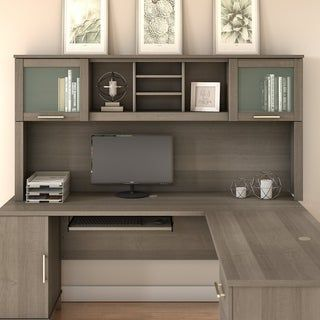 Overstock Com Online Shopping Bedding Furniture Electronics Jewelry Clothing More In 2020 L Shaped Desk Home Office Design Home Office Furniture