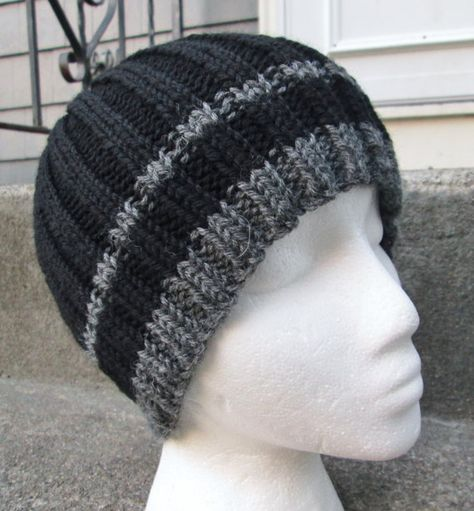 ef30a3db01faf Men s Knit Hat Wool by WendysWonders127 on Etsy