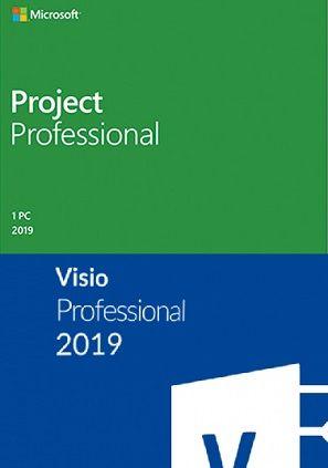 Licencia Microsoft Project Microsoft Visio W10 1pc