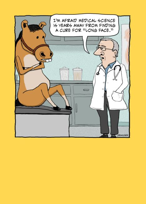 Funny Horse And Doctor Birthday Card Ad Sponsored Horse Funny Doctor Card Doctor Birthday Birthday Cards Funny Horse