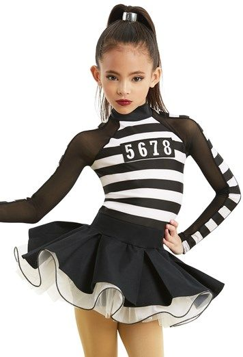 Love the skirt on this Jailhouse Rock Character Dance Costume