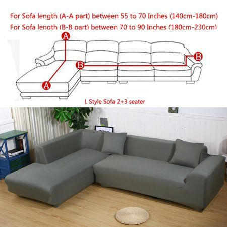Home Sectional Couch Cover Couch Covers Sofa Covers