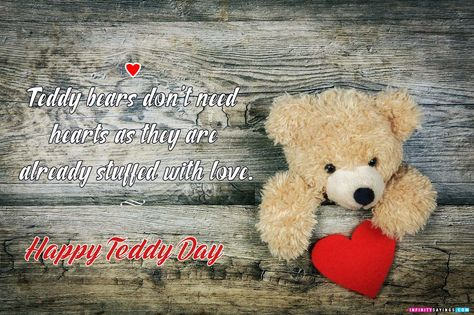 Happy Teddy Day Quotes 2019 Wishes Greetings for Whatsapp & facebook Status : Teddy Day Wishes Quotes HD Images Pictures and Download Free eCrads for Lover