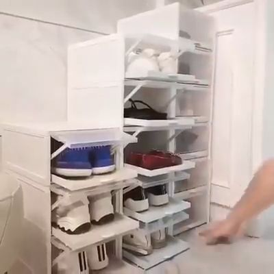 SHOE BOX PULL OUT DRAWER!