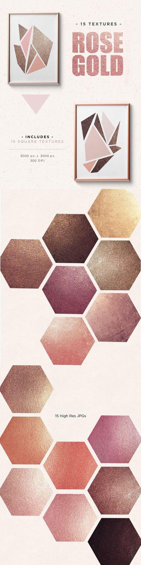 metallic 15 Rose Gold High Pigment...